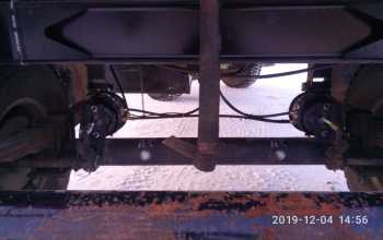 Установка АБС на дышловый прицеп, установка ГВАБ, УОС на КАМАЗ тягач