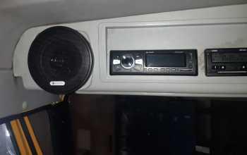 Комплексная установка - воздушный отопитель планар, магнитофон, колонки, антенна